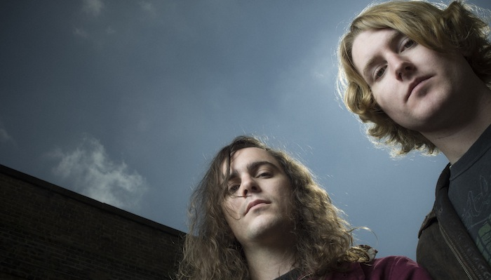 DZ Deathrays, portraits by Tom Oldham, East London May 2014